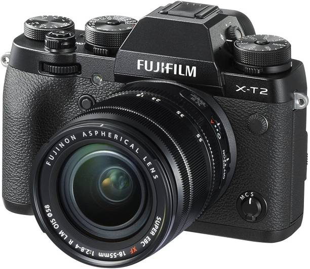 FUJIFILM X-T2 with 18-55 mm F2.8-4.0 R LM OIS Lens Mirrorless Camera Kit