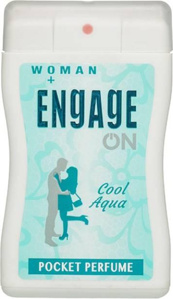 Engage On Cool Aqua Pocket Perfume  -  18 ml