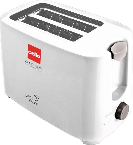 cello 300 700 W Pop Up Toaster