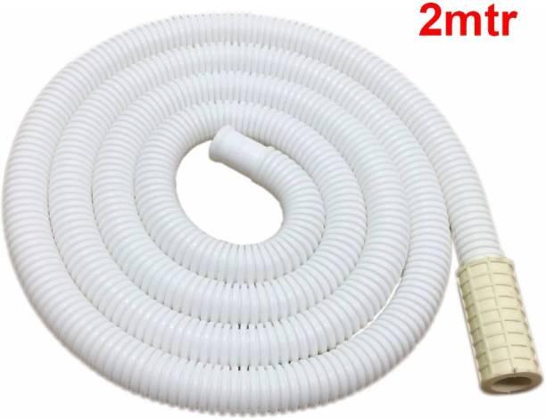 SMIPLEBOL Semi Auto Inlet Pipe (or) AC Drain Pipe - 2 Meter Washing Machine Inlet Hose