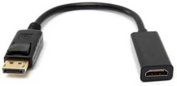 TECHON  TV-out Cable display port to hdmi female converter cable