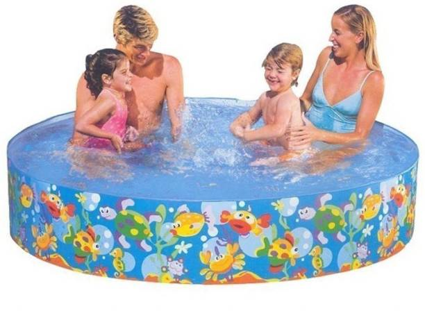 KT BROTHERS Fun Swimming Pool-6ft Inflatable Swimming Pool
