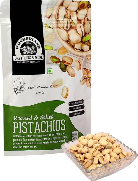WONDERLAND Roasted & Salted 100g Pistachios