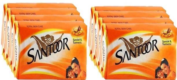 santoor SANDAL & TURMARIC SOAP