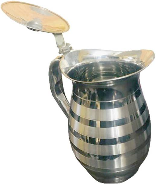 a2bb4a4235 Kuber Industries Pure Stainless Steel Jug Pitcher 1500 ML For Storage &  Serving Water (Jug06