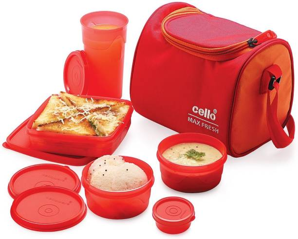 cello Sling 5 Containers Lunch Box