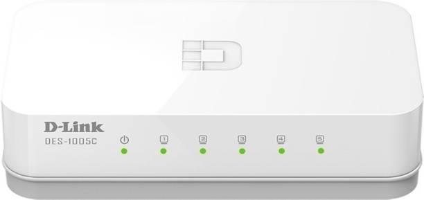 D-Link des-1005c Network Switch