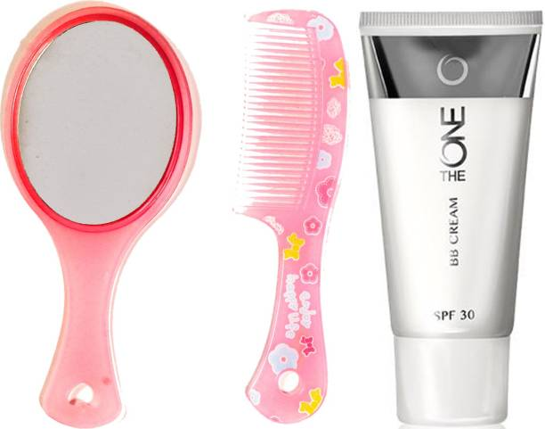 Oriflame Sweden The ONE BB Cream SPF 30 30ml (Light - 31595) With Comb Mirror Set