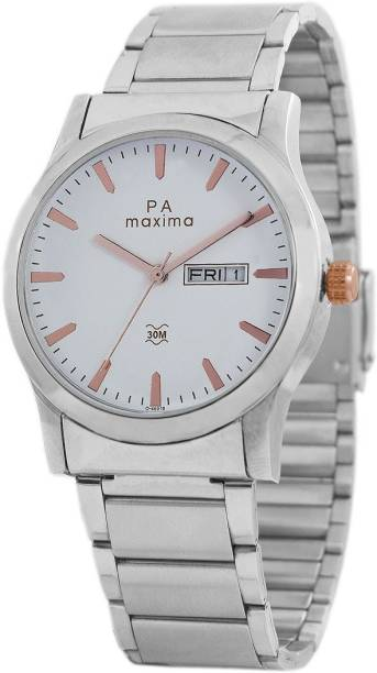 Maxima O-46910CMGI Analog Watch - For Men