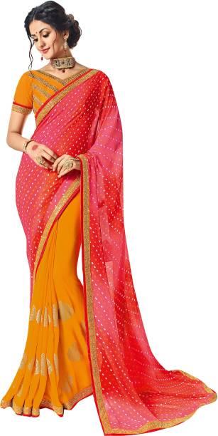 675b545697 Bandhej Sarees - Buy Bandhej Sarees Online at Best Prices In India ...