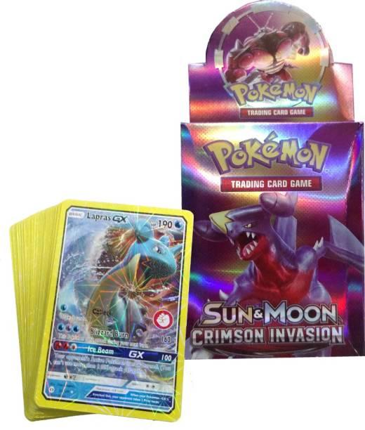 AncientKart Pokemon Crimson Invasion Deck with Shinning cards