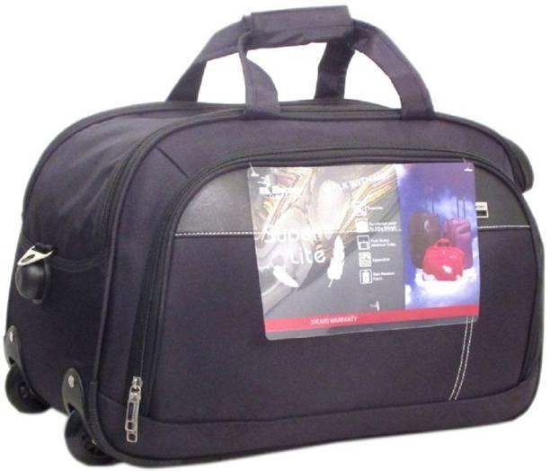 92e2c6e7fe78 Encore Luggage 20 inch 51 cm (Expandable) ENCORE STYLE DUFFLE 20 BLACK  Duffel