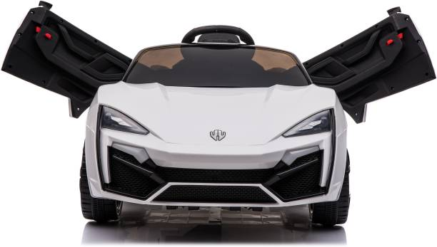 Toyhouse Fast n Furious Lykan Hypersport Rechargeable with Remote for kids (2 to 7 Yrs) Car Battery Operated Ride On