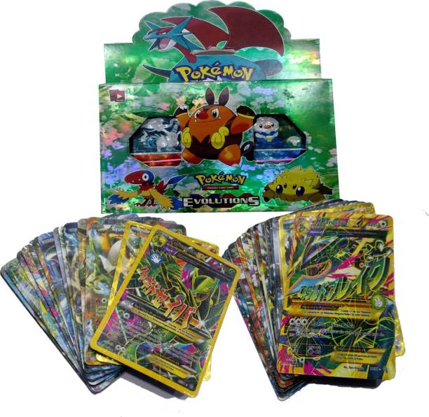 AncientKart Pokemon Evolutions Big Booster Deck with all EX cards