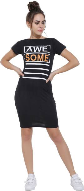 Tshirt Dress Dresses - Buy Tshirt Dress Dresses Online at Best ... 3804ff1c3