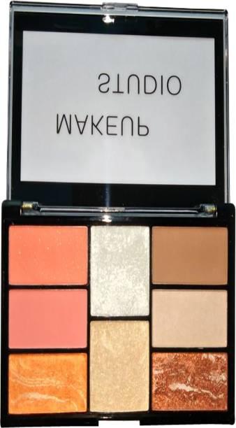 Sivanna Makeup Studio Pro Blush & Contour & Highlight 13 g