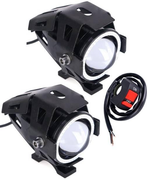 AutoPowerz LED Fog Light For Royal Enfield, KTM, Bajaj, Hero, Yamaha Universal For Bike