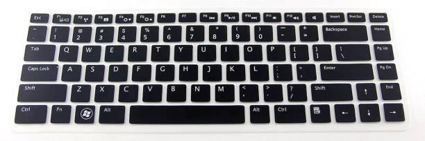 Saco Keyboard Skin for Dell VOSTRO 1440 1445 1450 1540 1550 2420 2520 3520 3420 3350 3460 3550 3555 3560 5520 V131 XPS 15 L502X 15R 14R N4110 M4110 N4050 M4040 15 N5040 N5050 M5040, X38K3 (L502X), Inspiron 14z (N411Z) X38K3 - Non-Backlit 4341X 04341X Series Laptop – Laptop Keyboard Skin
