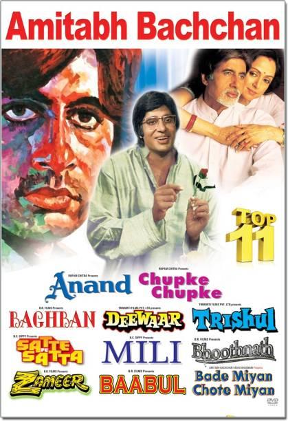 Amitabh Bachchan Top 11 Movies Pack