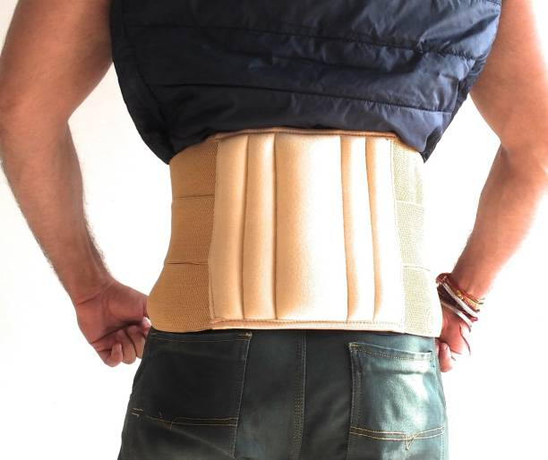 RELAX-ON Lumbar Sacral (L.S.) Belt Contoured Spinal Brace Back Support (XL
