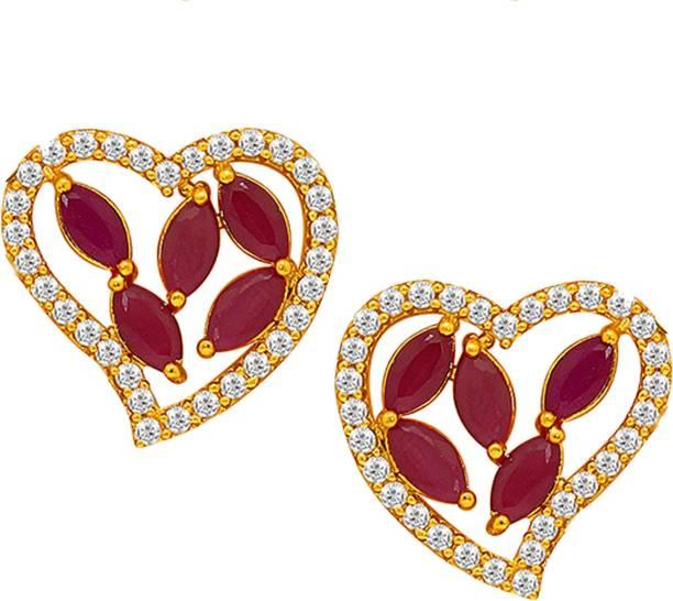 5f62c94bc66 Ruby Earrings - Buy Ruby Earrings online at Best Prices in India ...