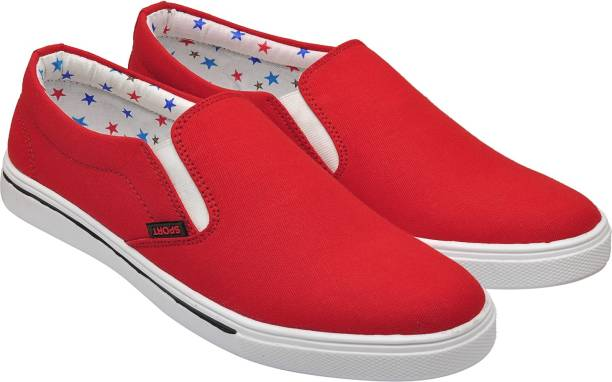 JDX Wonder-101 Sneakers Red Casual Shoes