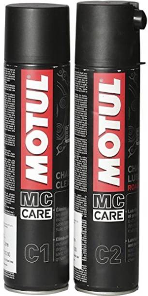 MOTUL COMBO C1 C2 Chain Clean & Chain Lube Road Chain Oil Chain Oil