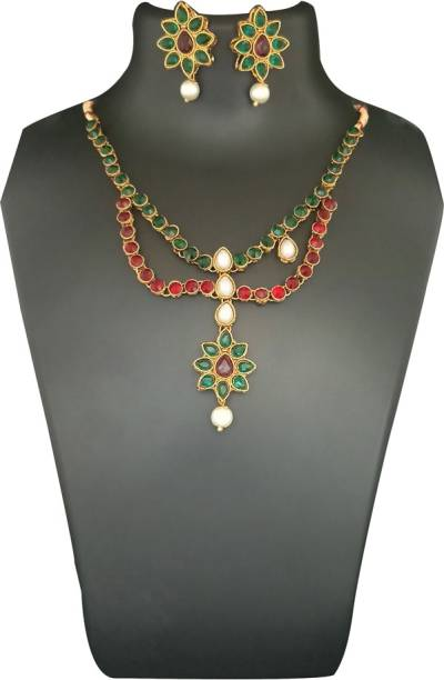 41065c770922e Kriaa By Jewelmaze Necklaces - Buy Kriaa By Jewelmaze Necklaces ...