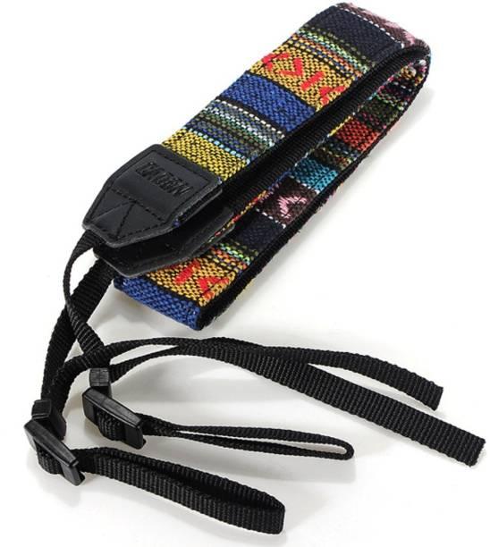 BOOSTY Retro Vintage National Wind Cotton Shoulder Neck Stripe Strap Belt For Panasonic For Sony For Nikon For Canon SLR DSLR Camera Strap
