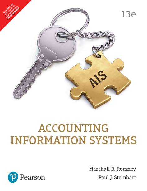 Accounting Information Systems (13e)