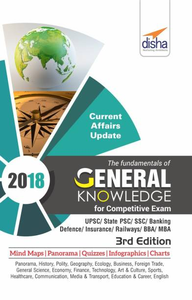 The Fundamentals of General Knowledge for Competitive Exams - Upsc/ State Pcs/ Ssc/ Banking/ Insurance/ Railways/ Bba/ MBA/ Defence