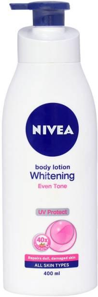 NIVEA Body Lotion, Whitening Even Tone, UV Protect & 40x Vitamin C