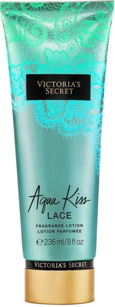 Victoria Secret Aqua Kiss Fragrance Body Lotion Perfume (Imported, Made in USA)