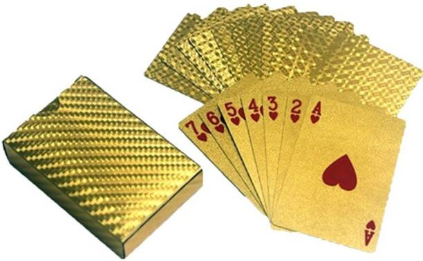 Smartcraft Gold Plated Playing Cards
