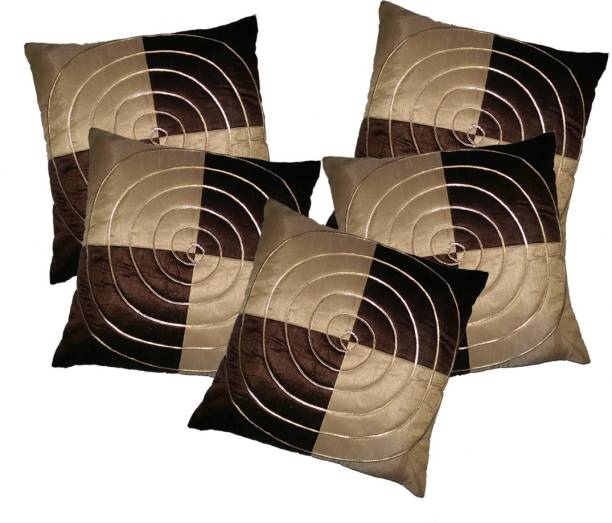 MS Enterprises Striped Cushions Cover