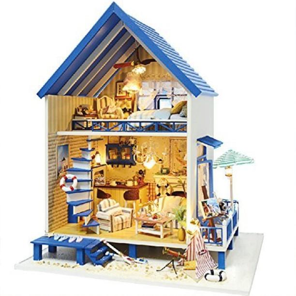 5pcs 1:12 Mini Gun Miniature Scene Model Scale Doll Dollhouse Accessories Parts
