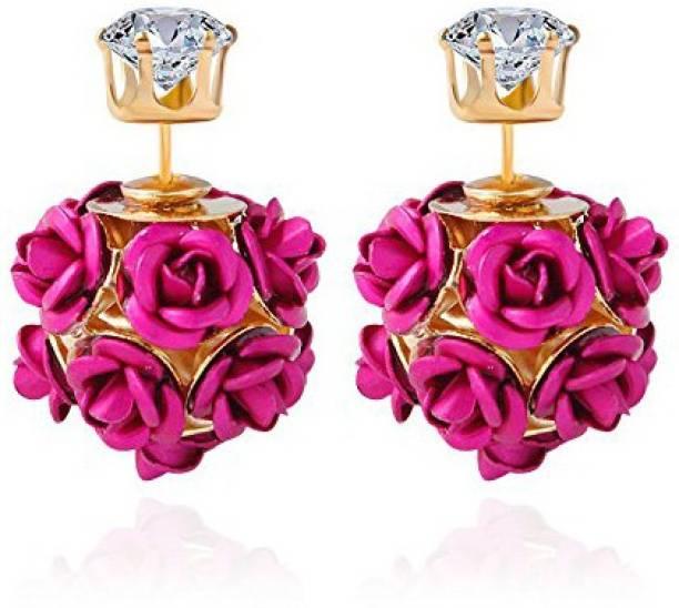 8d756fcc0 You Bella Stylish Fancy Party wear Jewellery earings Alloy Stud Earring