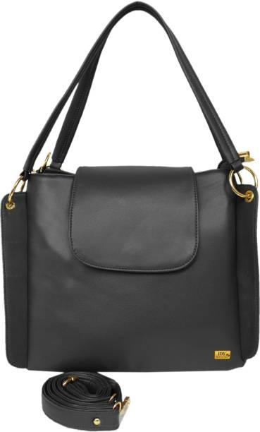 I Define You Girls Black Hand-held Bag