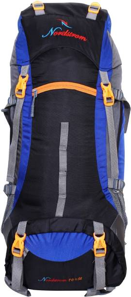 2441de3899 NORDSTROM 0109 Climate Proof Mountain Hiking trekking Campaign  Backpack 75  Ltrs Royal