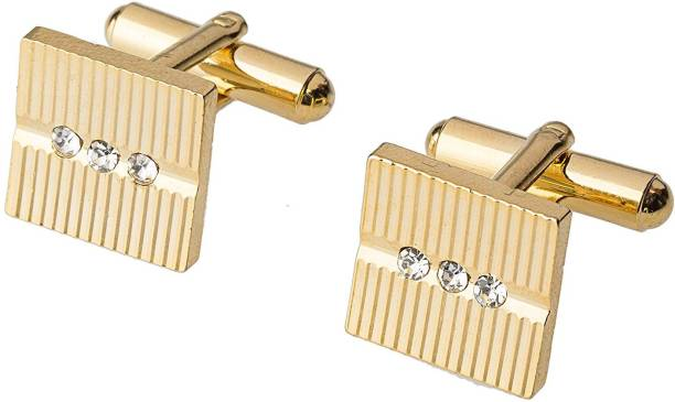 Miami Copper Brass Metal Cufflink