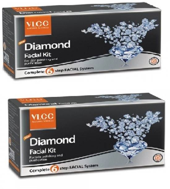VLCC Diamond Facial kit 60gm ( Pack of 2)