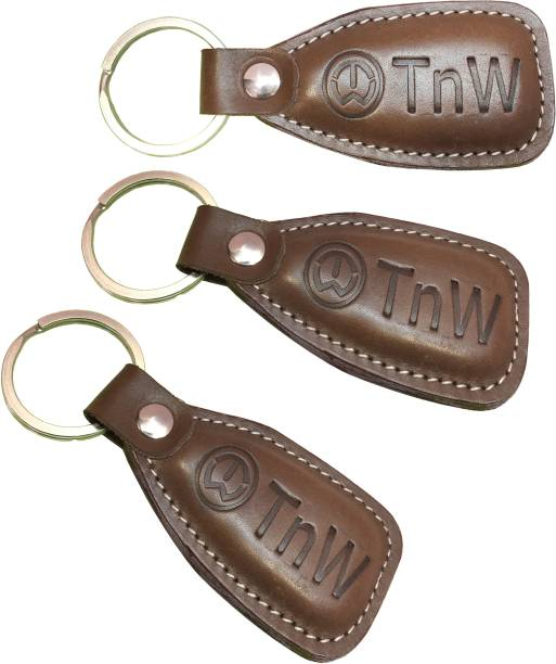 TnW Brown Key Chain Key Chain