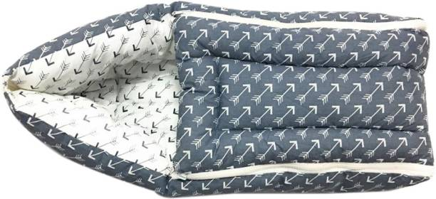 Bacati Grey White Arrow Reversible Baby Sleeping Bag