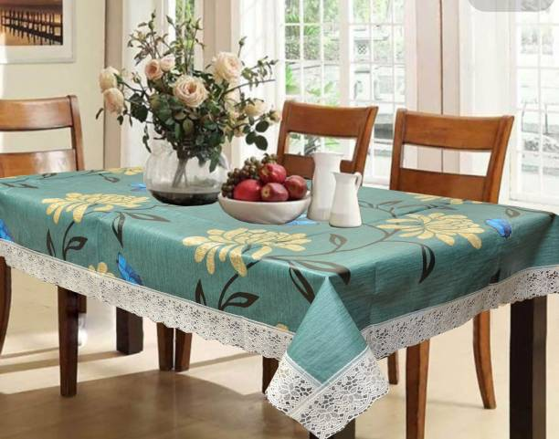 4b8feef1318 Kuber Industries Printed 6 Seater Table Cover