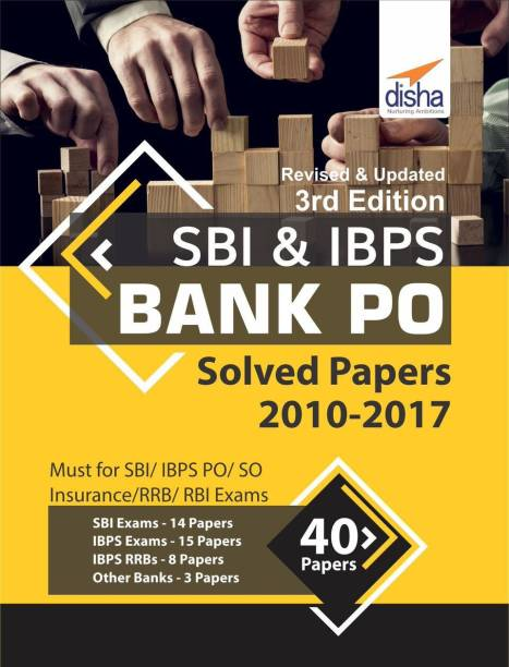 Banking exam books buy banking exam books online at best prices sbi ibps bank po solved papers 40 papers 2010 2017 3rd fandeluxe Gallery