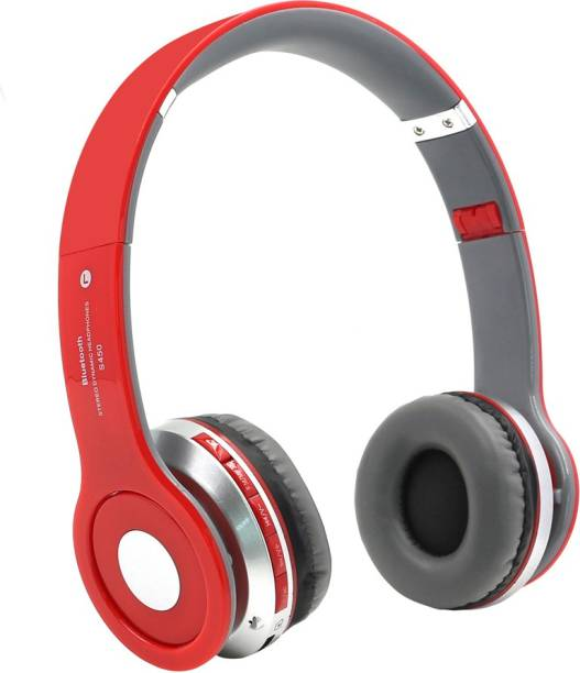 d54184e0af4 DRUMSTONE S450 Stereo Bluetooth Wireless / Headphones With Call With TF  Slot Mic built-in