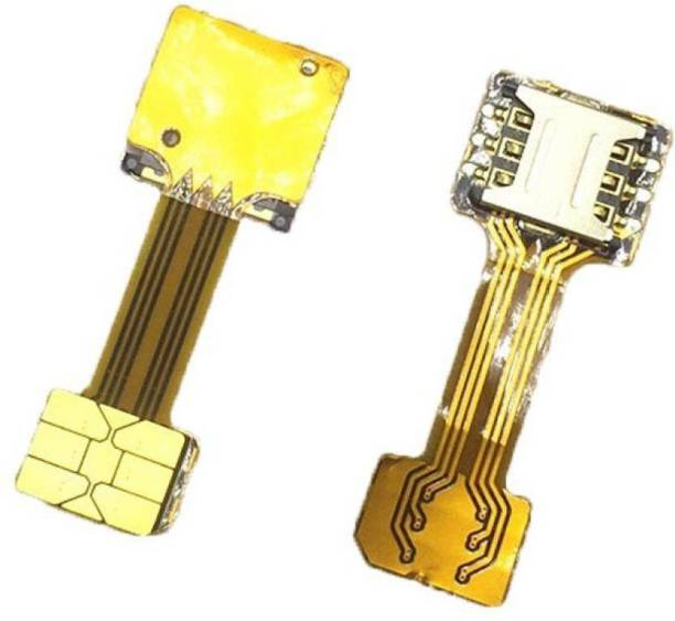 Boom Hybrid dual sim slot adaptor - Avails You To Run dual SIM And Micro SD Sim Adapter