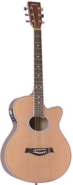 Hertz HZA-7000-NA Semi-acoustic Guitar Rosewood Rosewood