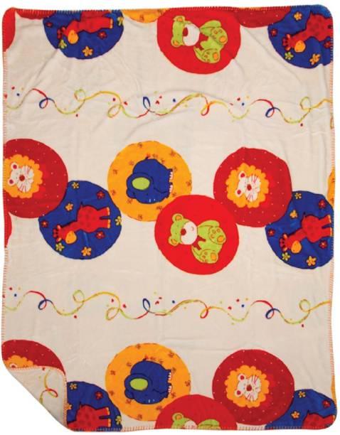 MeeMee Printed Double Coral Blanket