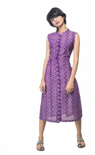 Traditional Vogue Women A Line Purple Dress